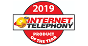 логотип 2019 Internet telephony product of the year